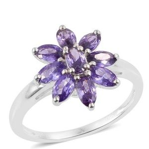 Jewelry - ✨NEW✨💍🌸💜 Floral lavender: Sterling Silver